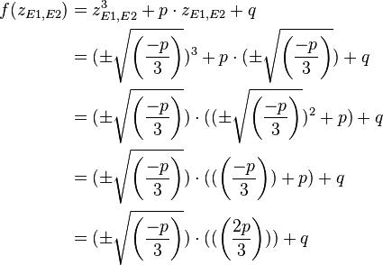 Gleichungen 3. Grades | Mathematik 1 - Gleichungen